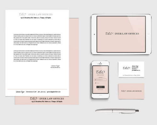 Dyer Law Offices | Branding Elements