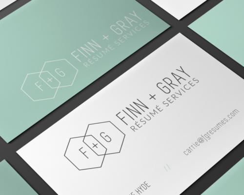 F+G Résumé Services | Business Cards