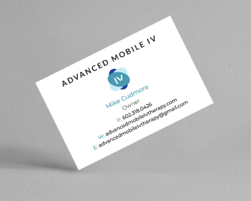 Advanced Mobile IV Therapy | Business Cards