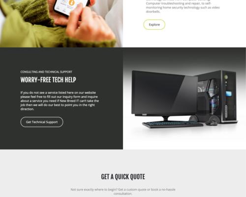 New Breed I.T. Website