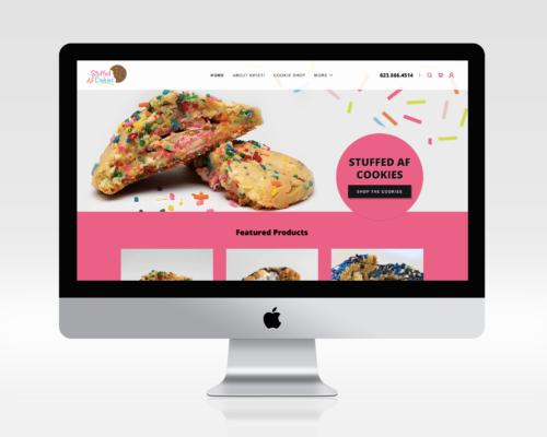 Stuffed AF Cookies Website